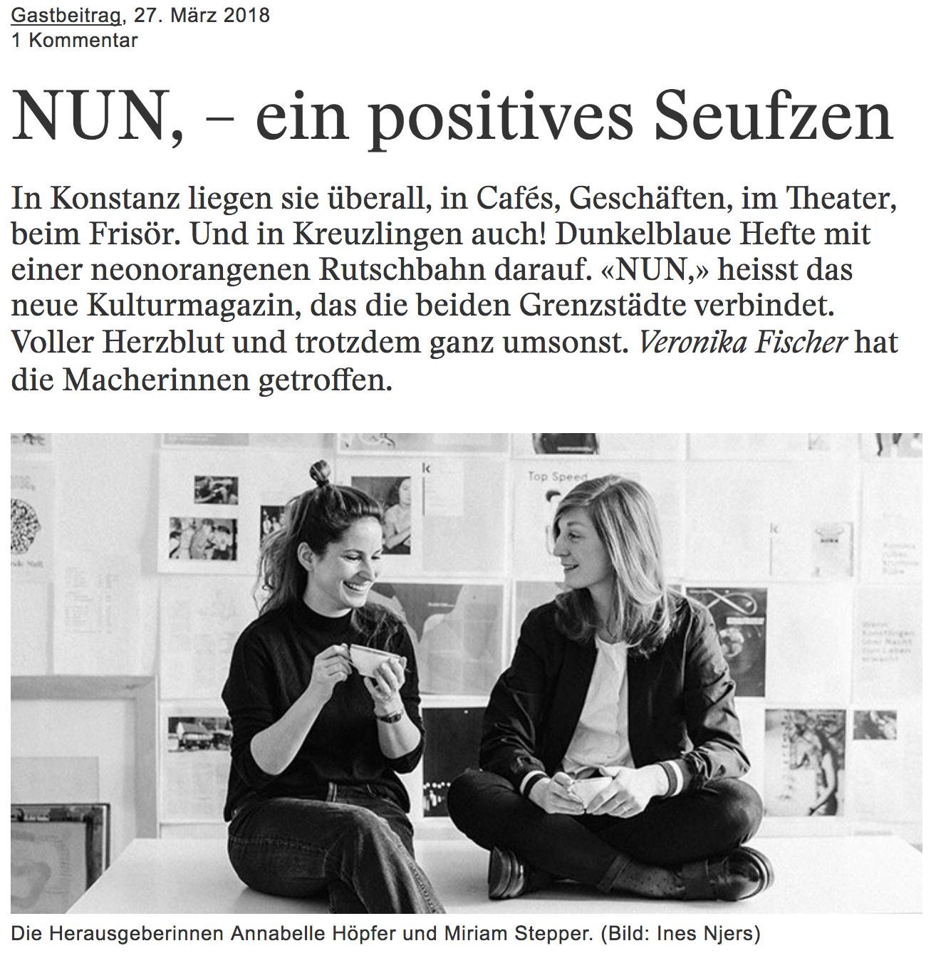 saiten.ch Artikel